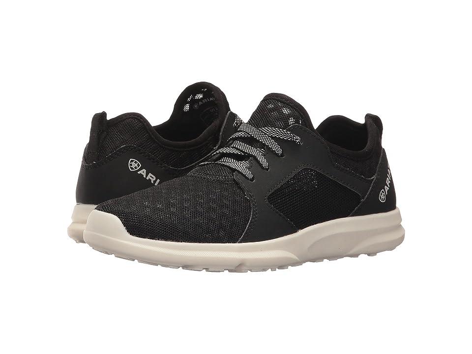 Ariat Kids Fuse (Toddler/Little Kid/Big Kid) (Black Mesh) Kids Shoes