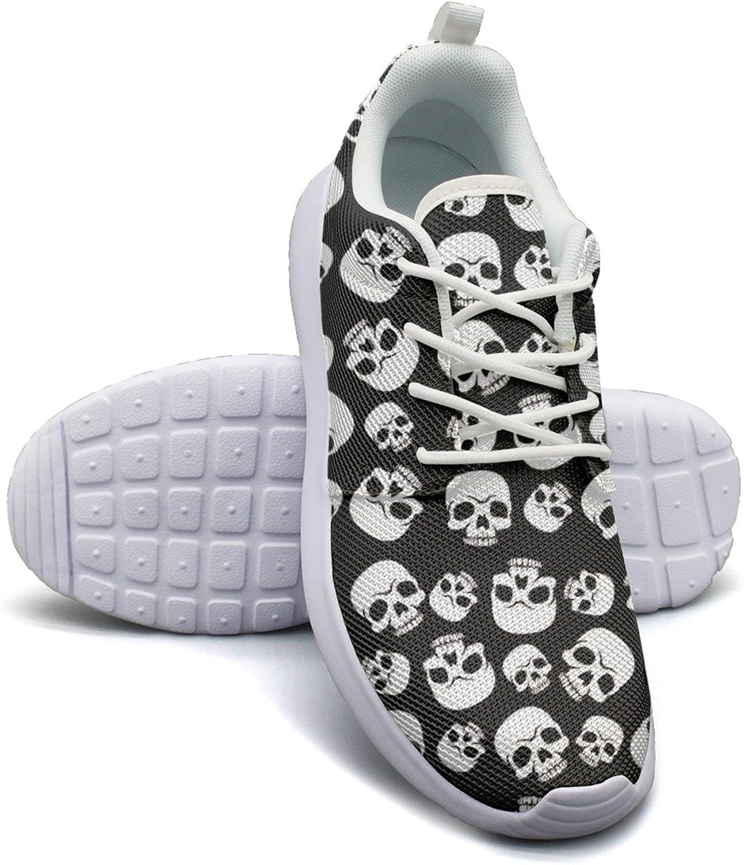 Skull Happy Halloween shoes Sport For Women Running size 9