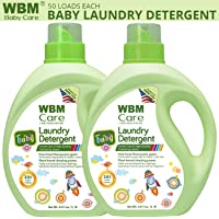2 Pack WBM LLC High Quality Active Baby Laundry Detergent