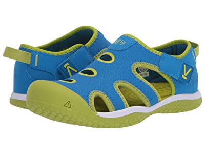 KEEN Kids Stingray (Little Kid/Big Kid) (Brilliant Blue/Chartreuse) Kid