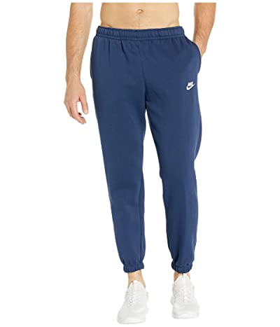 Nike NSW Club Pants Cuffed (Midnight Navy/Midnight Navy/White) Men