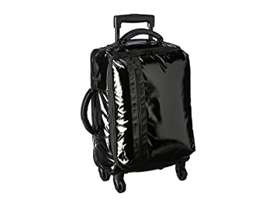 LeSportsac Dakota 21 Soft Sided Luggage (Black Patent) Carry on Luggage