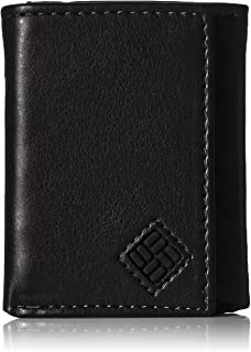 Columbia Men's RFID Trifold Wallet, Newberry Black, One Size