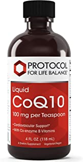 Protocol For Life Balance - Liquid CoQ10 - Supports Healthy Heart Activity and Promotes Cellular Energy and Health with Co...
