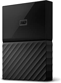 WD My Passport 4 TB Portable Hard Drive for PC, Xbox One and PlayStation 4 - Black