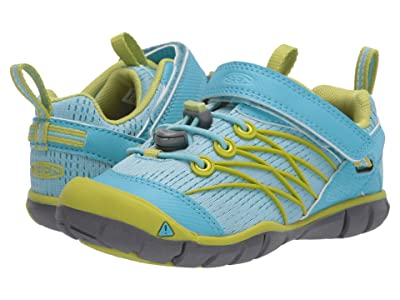 Keen Kids Chandler CNX (Toddler/Little Kid) (Petit Four/Chartreuse) Girl