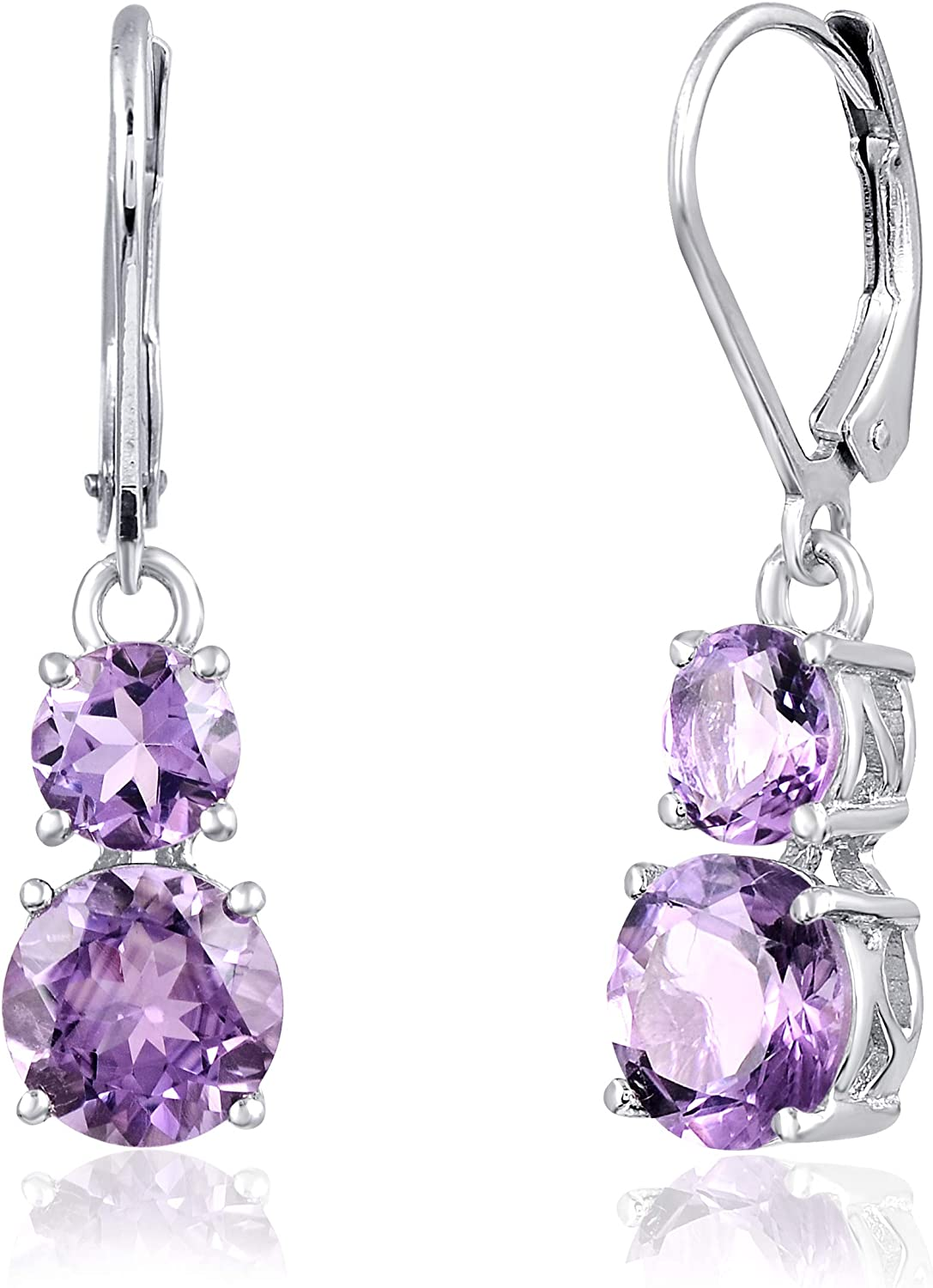 Orchid Jewelry Courier shipping Ranking TOP17 free Sterling Silver Earrings Se Hypoallergenic Dangle