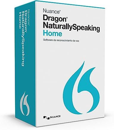 Nuance Communications Dragon NaturallySpeaking v.13.0 Home, Box Pack, 1 User