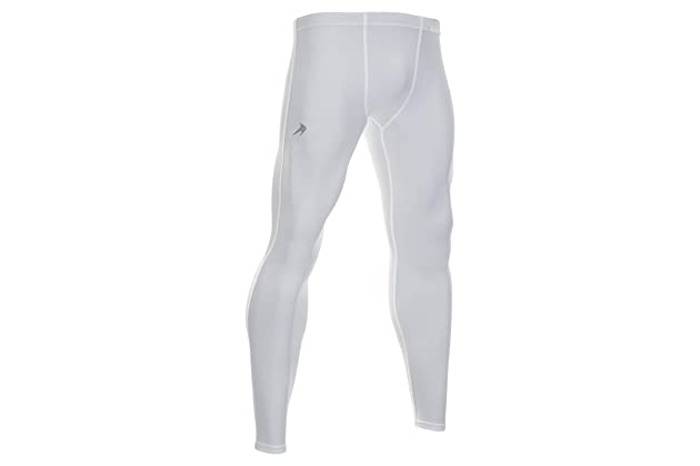 600d31c303 Men's Compression Pants - Workout Leggings for Gym, Basketball, Cycling,  Yoga, Hiking - Rash Guard + Performance Running Tights - Athletic Base  Layer ...