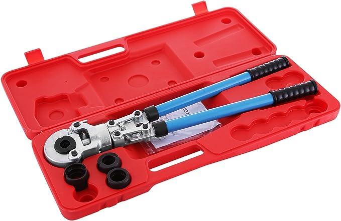 19 opinioni per Happybuy Pinza Crimpatrice 16-32mm Press Pinza per Tubi Compositi PEX PE-X Tubo