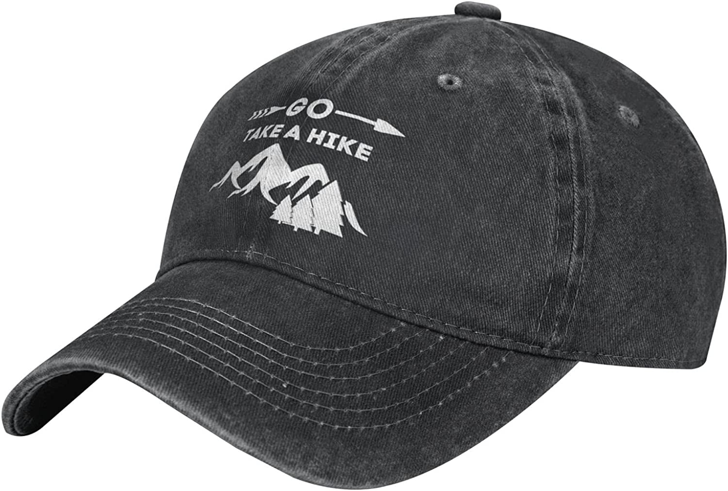 Wisedeal Women's Go Take A Hike Hats Washed Distressed Vintage Baseball Cap