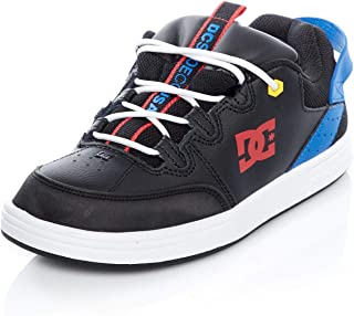 DC Boy's Syntax B Shoe Leather Sneakers