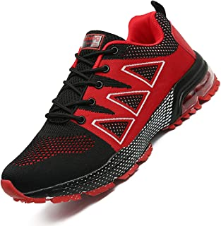 TQGOLD Men's Women's Air Cushion Athletic Running Shoes Lightweight Sport Gym Jogging Walking Shoes