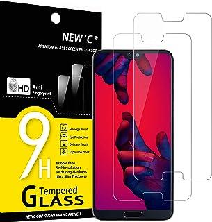 4 Pi/èces HD Ultra Transparent Film Protection /écran FCLTech Verre Tremp/é Compatible avec Huawei P20 Lite Anti Rayures