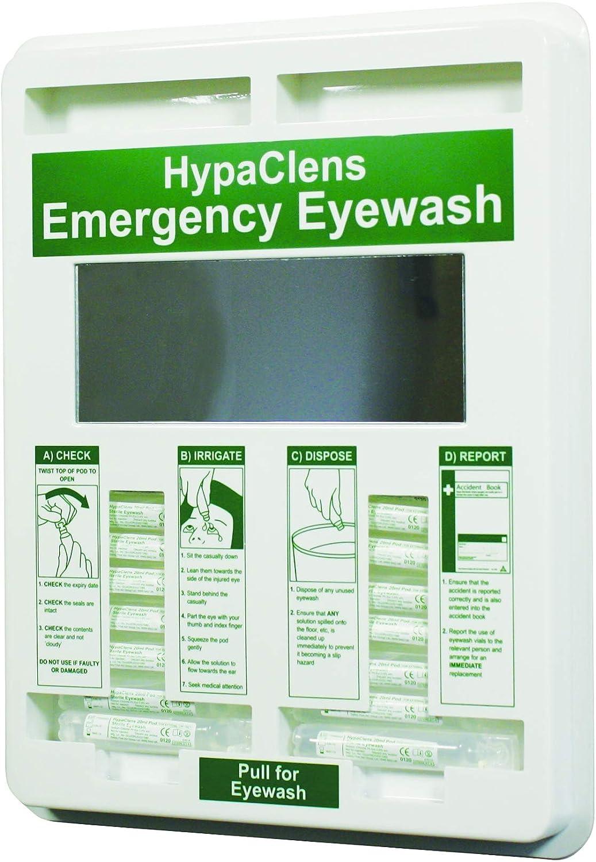 100% quality warranty! Hypaclens 20ml Eye Wash Dispenser 35x29cm - with Mirror Empty Regular dealer