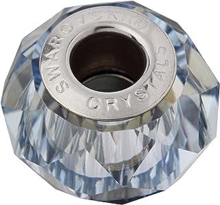 施华洛世奇(R)水晶 Vijamode碧玺 串珠 1个装 14×9.3mm 遮盖罩 极光加工 5948#001BLS