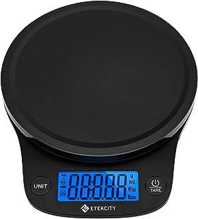 Etekcity Balance de Cuisine Numérique 5 kg/0.1g,Haute précision, 5 unités, Multifonction, Mesure du Liquide, Pesée du Lait...