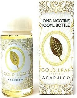 GOLD LEAF LIQUIDS ACAPULCO 電子タバコリキッド 100ml