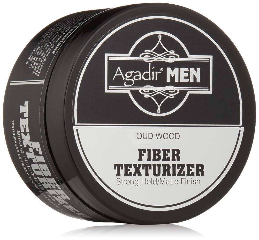 ショートカットホーン結婚するアガディール Agadir Men Oud Wood Fiber Texturizer (Strong Hold/Matte Finish) 85g/3oz並行輸入品
