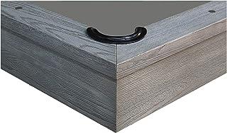 Worsted Blend Fast Speed Pool Cloth - Pool Table Felt - 7 feet - Billiard Cloth and 6 pre-Cut Rail Pieces- 2 Spots - Match...
