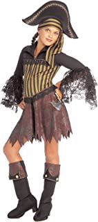 Girls Sassy Pirate Costume