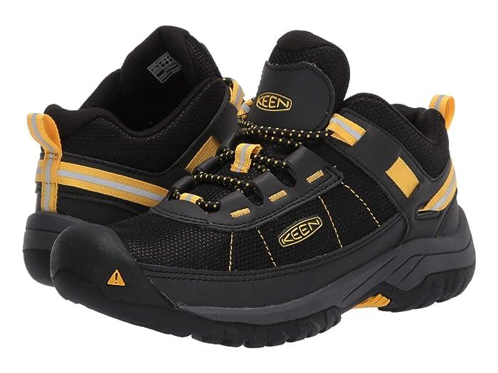 Keen Kids  Targhee Sport (Little Kid/Big Kid) (Black/Keen Yellow) Boys Shoes