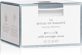 RITUALS The Ritual of Namasté vochtinbrengende nachtcrème om opnieuw te vullen, hydraterende collectie, 50 ml