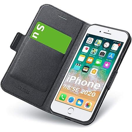 Coque iPhone 8, Housse iPhone 7, iPhone SE 2020 Coque, Ultra Mince Portefeuille, Emplacement Carte, Fermeture Magnétique, Rabat Flip Case, Clapet ...