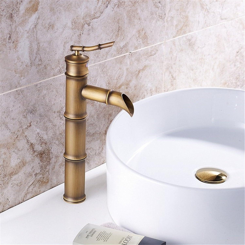 MIAORUI Head wash basin faucet   European golden atmosphere Antique Hotel faucet   full copper bath faucet