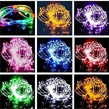 Feili 3 meters 30 lampek always jasne kolorowe światła LED miedziane druty świetlne w kształcie kuli miedzianej druty świe...