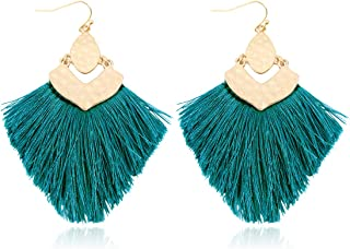 Art Earrings Collage Graduation Gift Remember Teal Green Earrings Inspirational Earrings Teen Earrings Whimsical Earrings