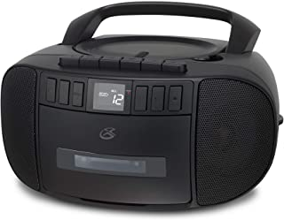 iLive BCA209B Boombox CD Cassette AM FM Black
