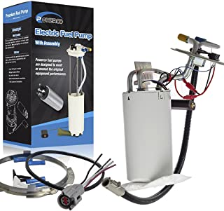 POWERCO Electric Gas Fuel Pump Module Assembly Replacement For Ford F-150 F-250 F-350 F-450 F Super Duty 1992-1998 With Sending Unit E2059M SP2005H (Fit For:17 Gal)
