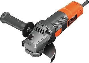 Black+Decker Haakse slijper BEG210-QS (900 Watt, 115 mm schijfø, met 3-positie-extra handgreep, voor alle standaard snijka...