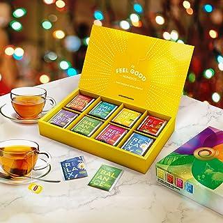 Lipton Thee Selectie Geschenkdoos, Thee & Kruideninfusie, Perfect geschenk voor haar, voor hem, Verjaardagscadeau, Kerstca...