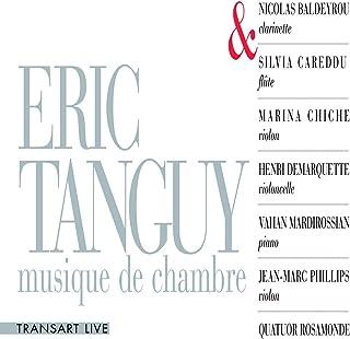 Eric Tanguy, musique de chambre