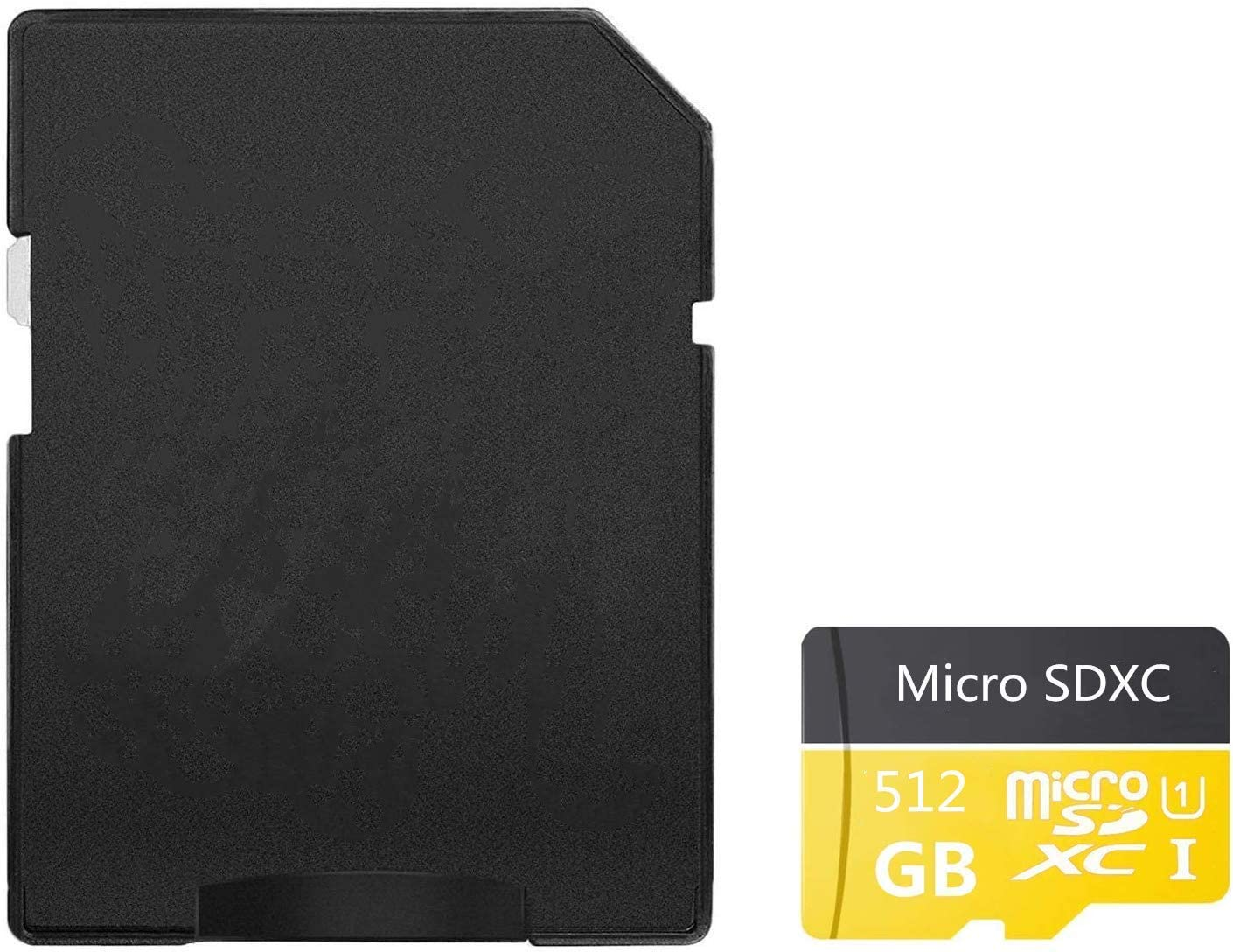 512GB Micro SD Card Class 10 Memory Card High Speed Micro SD SDXC Card with SD Adapter(512GB)