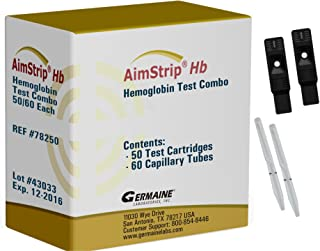 AimStrip 78250 Hemoglobin Test Combo (Pack of 50)