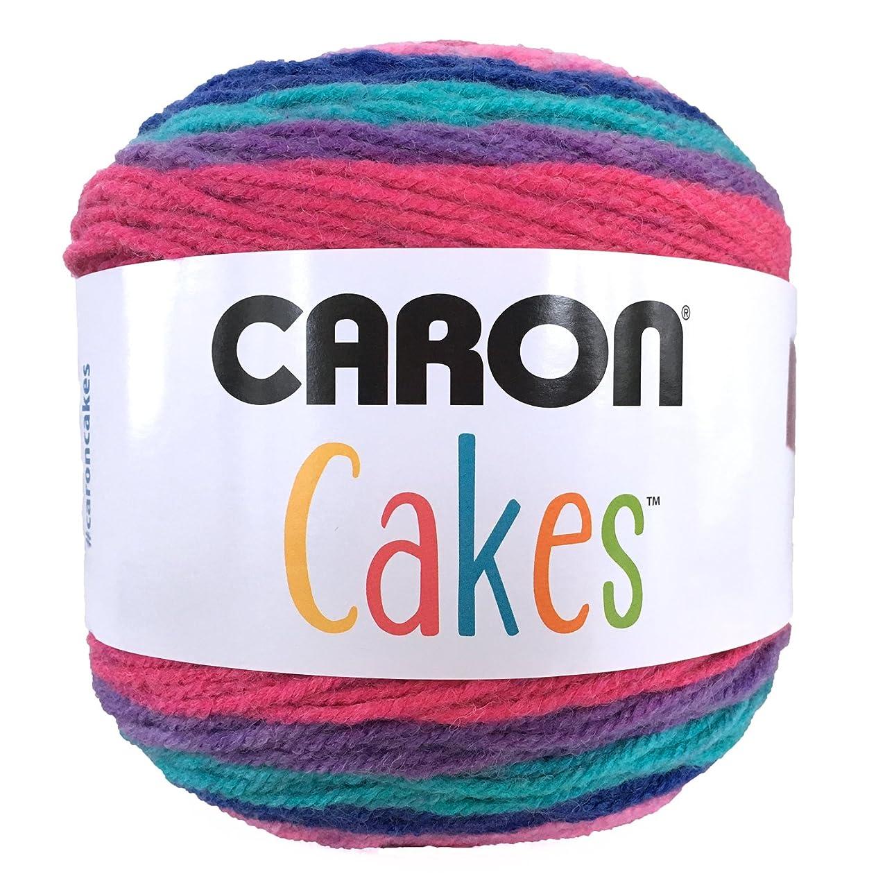 Caron Cake Self Striping Yarn 1 Ball Mixed Berry 7.1 ounces iayqlazcagcpw977