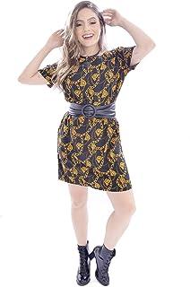 Vestido Mania de Sophia Curto Correntes Preto
