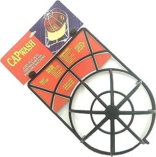 キャップウォッシャー キャップホルダー 軽量 キャップ ウォッシャー シワ 型崩れ防止 洗濯 ネット プラスチック 洗濯機 使用簡単 ブラック