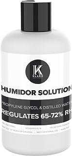 Klaro Humidor Solution Single Bottle - Special Formula 50% Distilled Water / 50% Propylene Glycol 250 ml - by CASE ELEGANCE