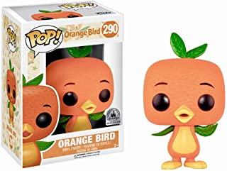 POP! Disney: Orange Bird 290 Vinyl Figure (Parks Exclusive) with Plastic Protector