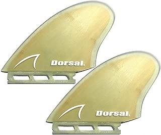 wood keel fins