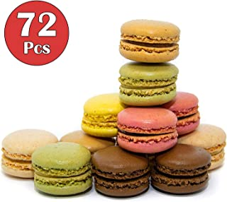 French Almond Macarons Gift – 72 pcs – Assorted Macaroons Cookies - Imported From France