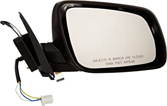OE Replacement Mitsubishi Lancer Passenger Side Mirror Outside Rear View (Partslink Number MI1321129)
