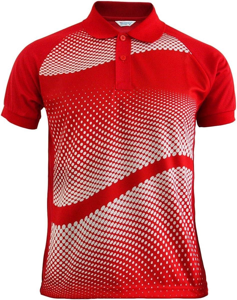BCPOLO Sacramento Mall Men's Polo Shirt DRI Sleeve Max 60% OFF FIT Short Graphic