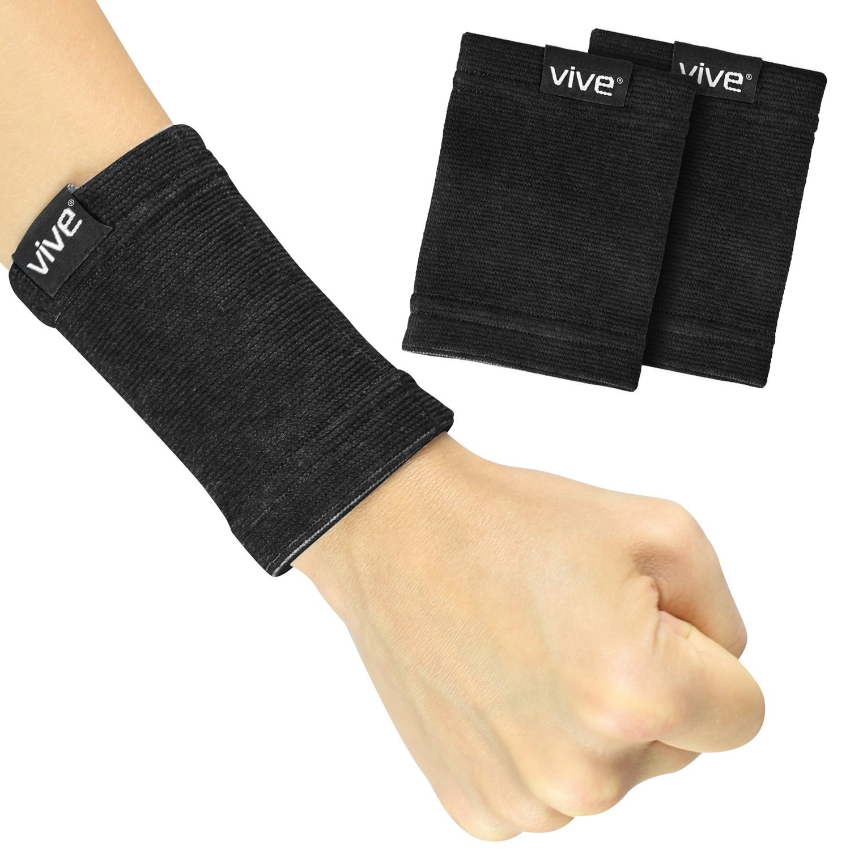 VIVE Wristbands Pair Compression Tendonitis