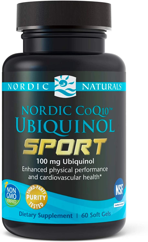 Very popular favorite Nordic Naturals CoQ10 Ubiquinol mg 100 Sport -