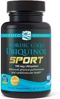 Nordic Naturals Nordic CoQ10 Ubiquinol Sport - 100 mg Ubiquinol - 60 Mini Soft Gels - Heart Health, Physical Performance, ...
